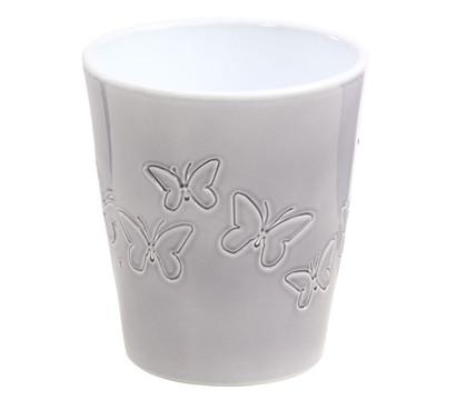 bertopf f r orchideen butterfly grau 15 cm dehner garten center. Black Bedroom Furniture Sets. Home Design Ideas