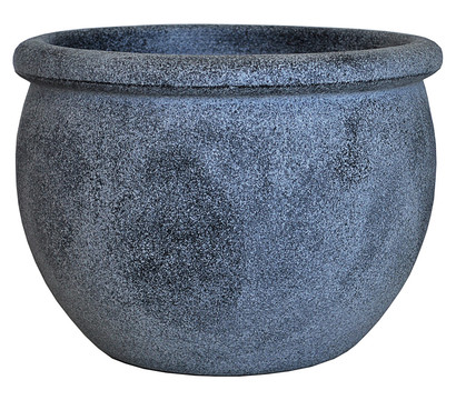 Vasar kunststoff blumentopf perugia rund grau dehner for Blumentopf grau