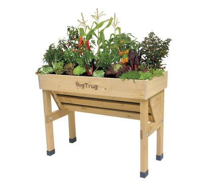 veg trug hochbeet wall hugger small dehner garten center. Black Bedroom Furniture Sets. Home Design Ideas