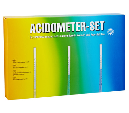 Vina Acidometer-Set, komplett