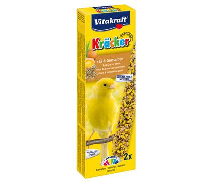 Vitakraft Kräcker Original mit Ei & Grassamen für Kanarien