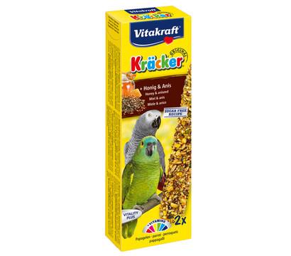 Vitakraft Kräcker Original mit Honig & Anis für Papageien