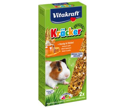 Vitakraft Kräcker Original mit Honig & Dinkel für Meerschweinchen