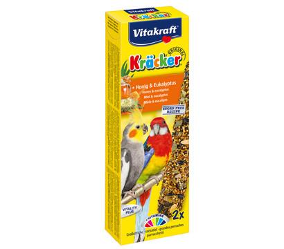 Vitakraft Kräcker Original mit Honig & Eukalyptus für Großsittiche