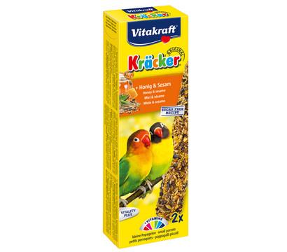 Vitakraft Kräcker Original mit Honig & Sesam für Agaporniden