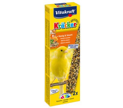 Vitakraft Kräcker Original mit Honig & Sesam für Kanarien