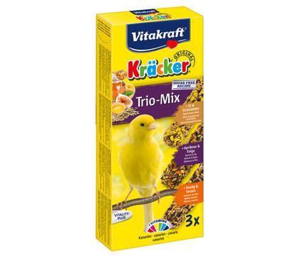 Vitakraft Kräcker Trio-Mix, Ei, Frucht & Honig für Kanarien