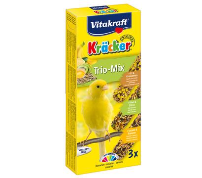 Vitakraft Kräcker Trio-Mix mit Ei, Kiwi & Banane für Kanarien