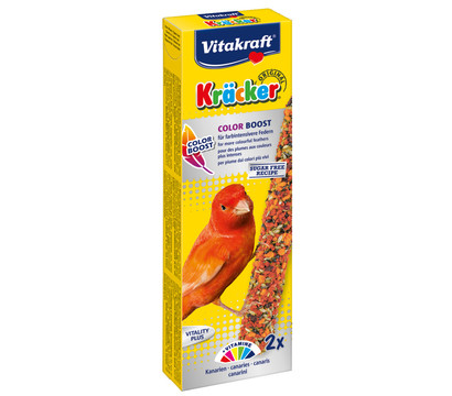 Vitakraft® Kräcker® Vogelsnack Original Color Boost für Kanarien