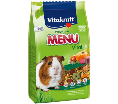 Vitakraft Premium Menü Vital, Meerschweinchenfutter, 1 kg