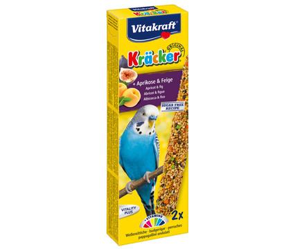 Vitakraft® Vogelsnack Kräcker®, Aprikose & Feige für Wellensittiche
