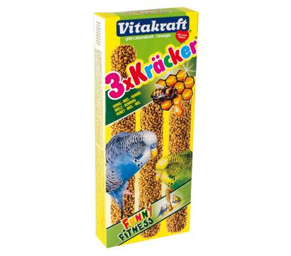 Vitakraft® Vogelsnack Kräcker®, Honig & Sesam für Wellensittiche