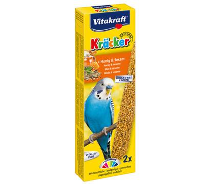 Vitakraft® Vogelsnack Kräcker® Original, Honig & Sesam für Wellensittich