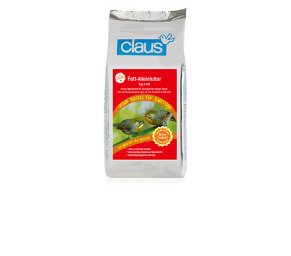 Vogelfutter Claus Fett-Alleinfutter Type I, 500 g