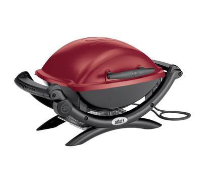 Weber Elektrogrill Q 1400, maroon