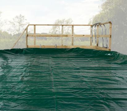 Weka abdeckplane 593 f r den gartenpool trinidad dehner for Gartenpool angebote