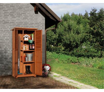 weka balkon und terrassenschrank pedro 88 x 50 cm. Black Bedroom Furniture Sets. Home Design Ideas
