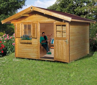 weka gartenhaus 131 dehner garten center. Black Bedroom Furniture Sets. Home Design Ideas