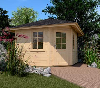 Weka Gartenhaus 149 5-Eck Gr.1