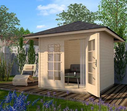 Weka Gartenhaus 177 4-Eck Gr. 1