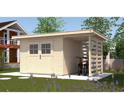 weka gartenhaus 179 a dehner garten center. Black Bedroom Furniture Sets. Home Design Ideas