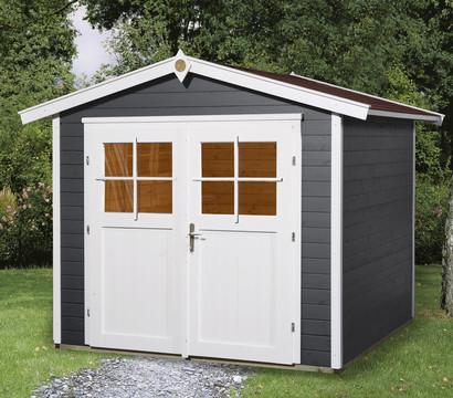 weka gartenhaus 224 gr 1 dehner garten center. Black Bedroom Furniture Sets. Home Design Ideas