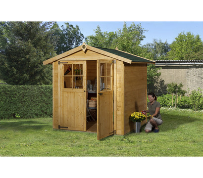 weka gartenhaus 316 gr 2 dehner garten center. Black Bedroom Furniture Sets. Home Design Ideas