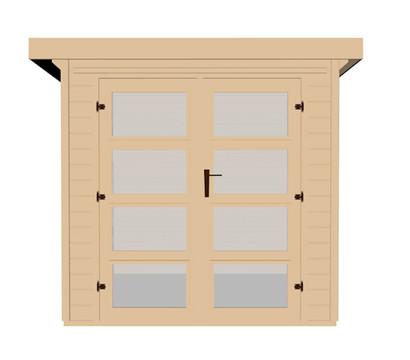 weka gartenhaus 321 dehner garten center. Black Bedroom Furniture Sets. Home Design Ideas