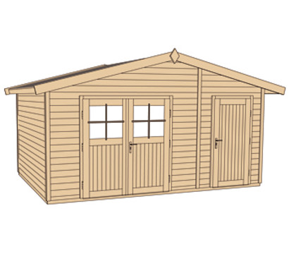 weka gartenhaus hinterzarten dehner garten center. Black Bedroom Furniture Sets. Home Design Ideas