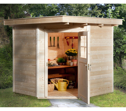 weka gartenhaus quinta gr 1 dehner garten center. Black Bedroom Furniture Sets. Home Design Ideas