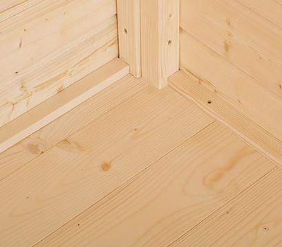 Weka Massivholzboden, für Gartenhaus 209 Gr. 1