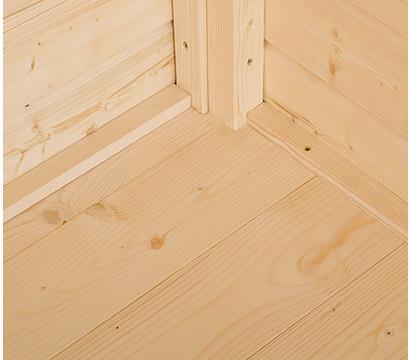 Weka Massivholzboden für Gerätehaus 345 Gr. 1