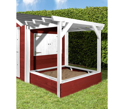 weka pergola f r kinderspielhaus philipp rot wei dehner garten center. Black Bedroom Furniture Sets. Home Design Ideas