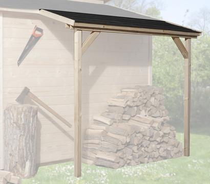 Weka Schleppdach für Gartenhaus ab Tiefe 300 cm