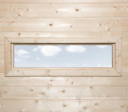 Weka Zusatzfenster feststehend, 125 x 40 cm