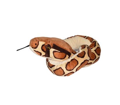 WILD REPUBLIC® Stofftier Schlange Burmesische Python
