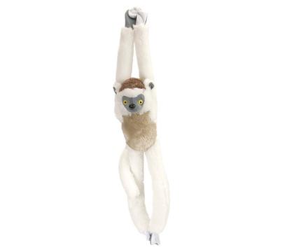 WILD REPUBLIC® Stofftier Sifaka Lemur, hängend