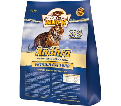 Wildcat Andhra Fisch, Süßkartoffel & Kürbis, Trockenfutter, 3 kg