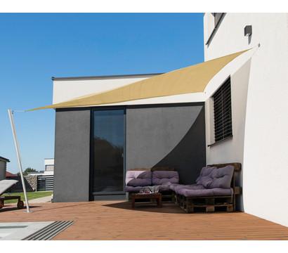 Windhager Sonnensegel Capri, 400 x 400 x 400 cm