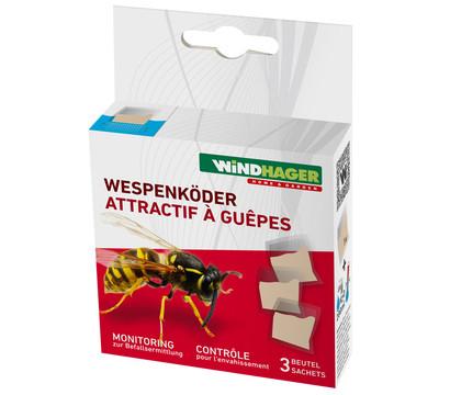 Windhager Wespenköder für Wespenfalle, 3 Stück