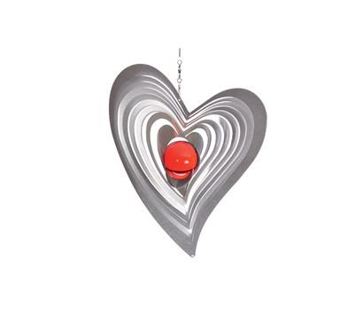 Windspiel Swing mit roter Kugel