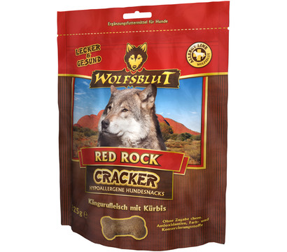 Wolfsblut Cracker Red Rock Känguru, Hundesnack, 225g