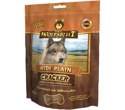 Wolfsblut Cracker Wide Plain Pferd, Hundesnack, 225g