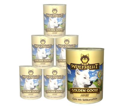 Wolfsblut Golden Goose Gans & Süßkartoffel, Nassfutter, 6 x 395g