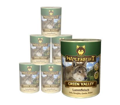 Wolfsblut Green Valley, Lamm & Lachs, Nassfutter, 6 x 395g