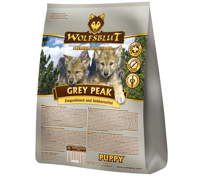 WOLFSBLUT Grey Peak Trockenfutter Puppy Ziege & Süßkartoffel