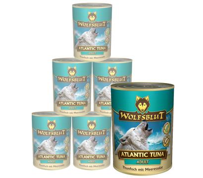 Wolfsblut Nassfutter Atlantic Tuna Thunfisch & Meeressalat, 6 x 395g
