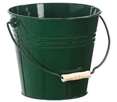 Zink-Eimer, 7 Liter, dunkelgrün