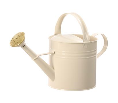 Zink-Gießkanne, 5 Liter, beige