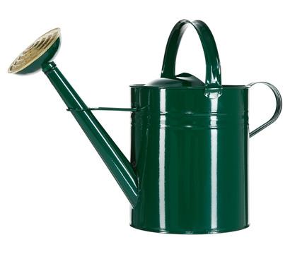 Zink-Gießkanne, 9 l, grün